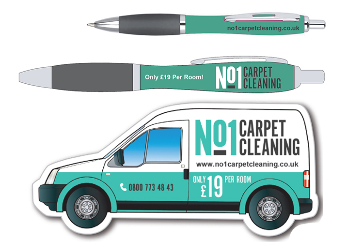 Promotional Items for No1 Carpet Cleaning